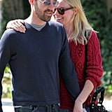 Kate Bosworth laughed with Michael Polish in LA.