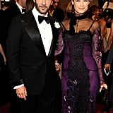 Tom Ford and Carolyn Murphy