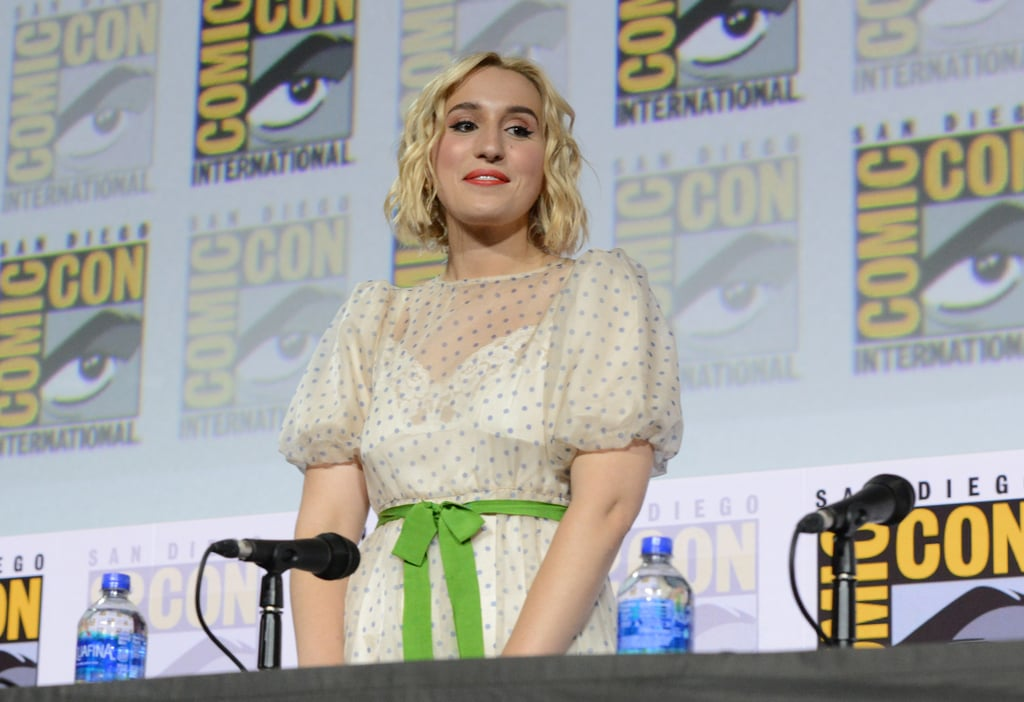 Pictured: Harley Quinn Smith at San Diego Comic-Con.