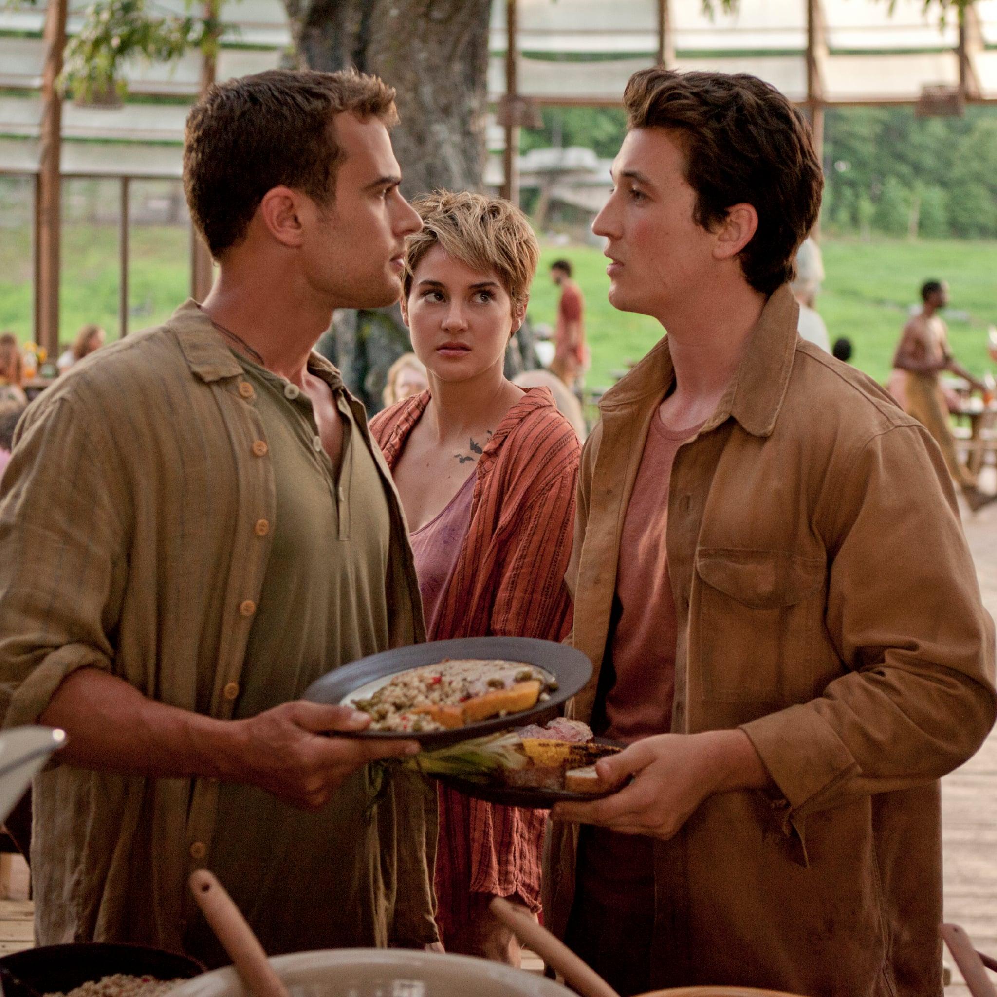Shailene woodley dating history