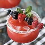 Raspberry Strawberry Margarita