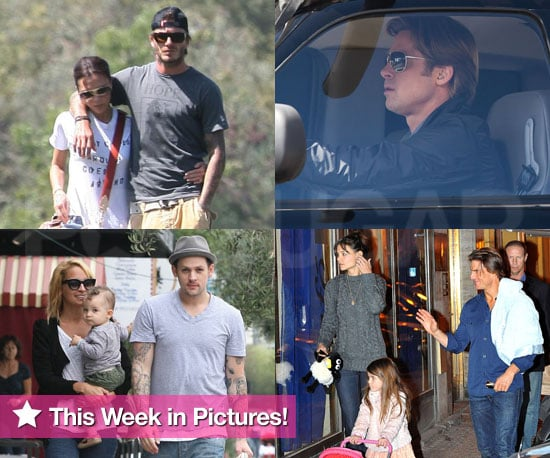 Pictures of Brad Pitt, Tom Cruise, Katie Holmes, David Beckham, Nicole Richie, and More!