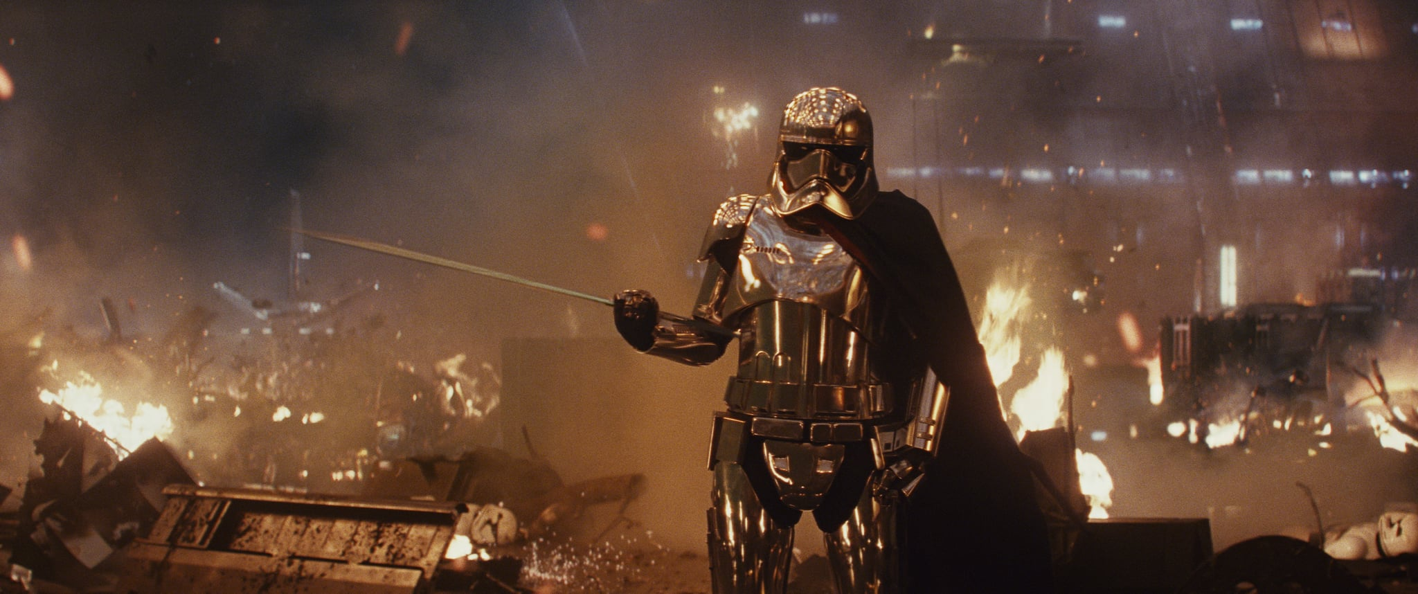 Who Plays Captain Phasma In Star Wars Popsugar Entertainment
