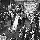 Their ceremony was broadcast via radio the day of, and a film of the day was shown in cinemas around the country.