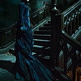 Jessica Chastain as Lady Lucille Sharpe.