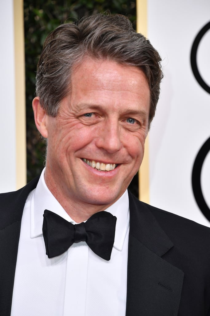 """It's a story about a woman slowly dying of syphilis, which is always, of course, comedy gold."" — Hugh Grant, making people realise that ""musical or comedy"" nominee Florence Foster Jenkins is actually quite dark."