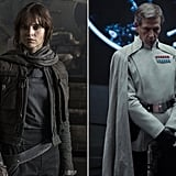 Jyn Erso and Director Orson Krennic From Rogue One: A Star Wars Story