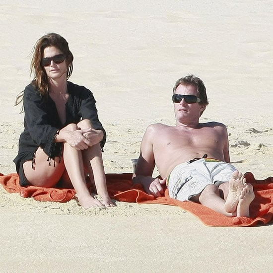 Cindy Crawford and Rande Gerber in Mexico Pictures