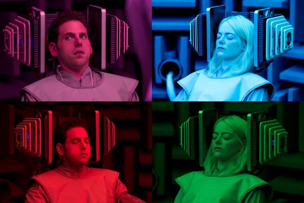 صور مسلسل Maniac من نتفليكس بطولة إيما ستون وجونا هيل