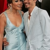 Jennifer Lopez and Marc Anthony walked the carpet together in December 2005.