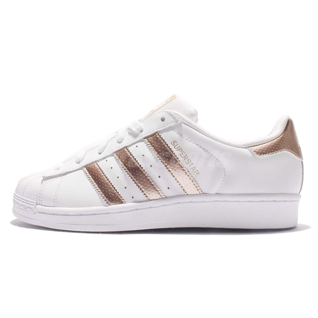 adidas superstar original fashion sneaker 80 rose gold sneakers popsugar fashion photo 14. Black Bedroom Furniture Sets. Home Design Ideas