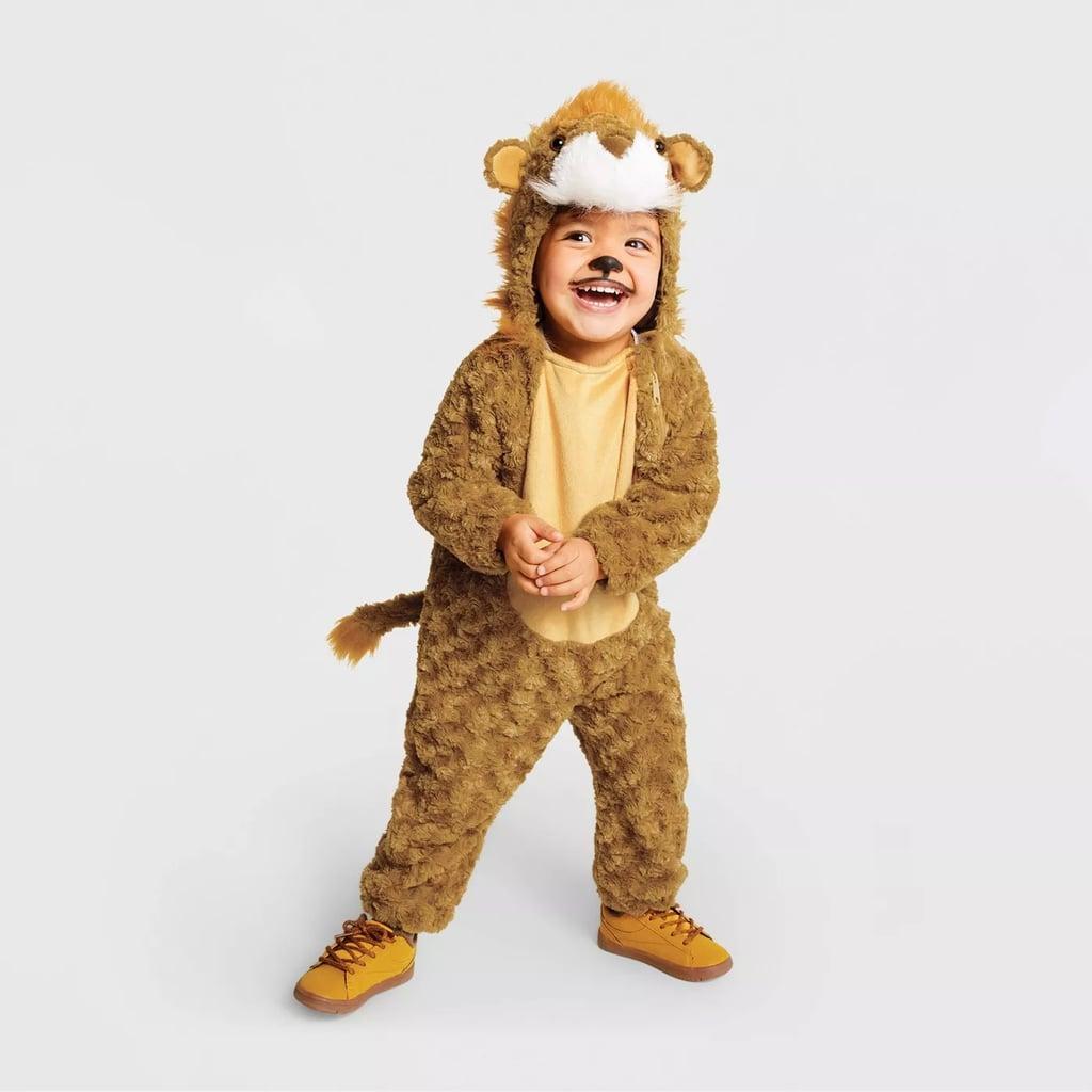 Toddler Plush Lion Halloween Costume