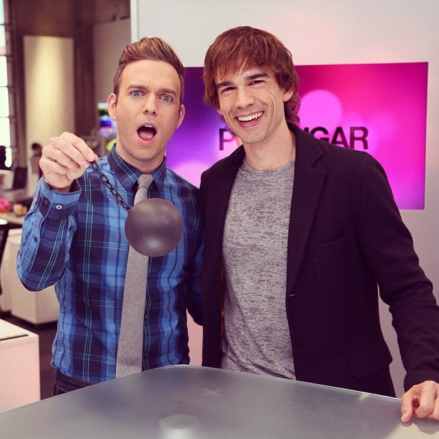 Christopher Gorham came into our LA office like a wrecking ball.