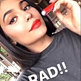 Kylie Wearing Rad From the Kourt Collection