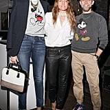 Jenna Lyons, Courtney Crangi, and Philip Crangi