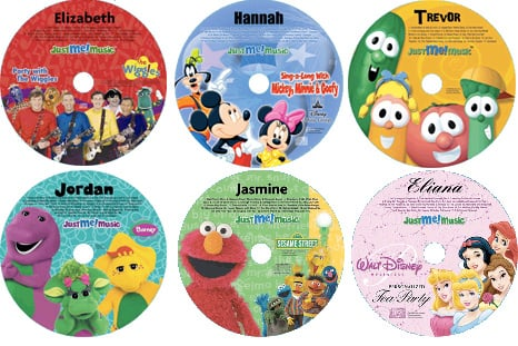 Just Me Personalized CDs