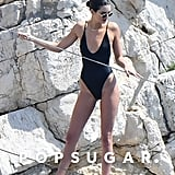 Black One-Piece Swimsuit by Gooseberry