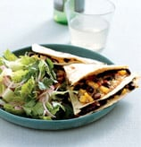 Fast & Easy Dinner: Kitchen-Sink Quesadillas