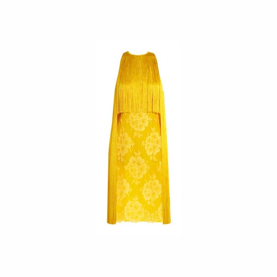 Stella McCartney Fringed Lace and Crepe Dress, approx. $2,545