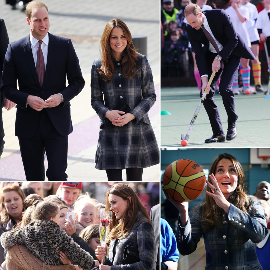 Pregnant Kate Middleton and Prince William in Scotland