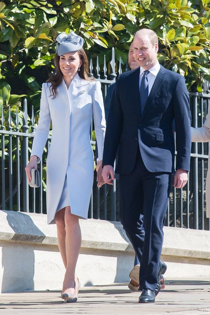 The Royal Family at Easter Service April 2019 | POPSUGAR Celebrity UK