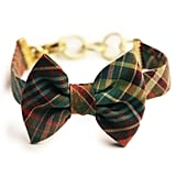 I tap into my inner prepster when thinking about back-to-school shopping. I instantly fell in love with the earthy plaid or the menswear-inspired bow tie on this Kiel James Patrick bracelet ($58). It's time for the leaves to start falling.  — RK