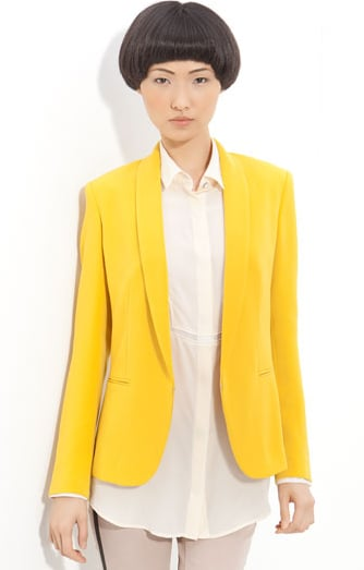 Rag & Bone lemon curry tuxedo blazer ($495)