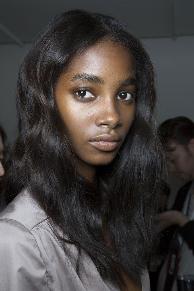 No-Makeup Look For Deep Skin