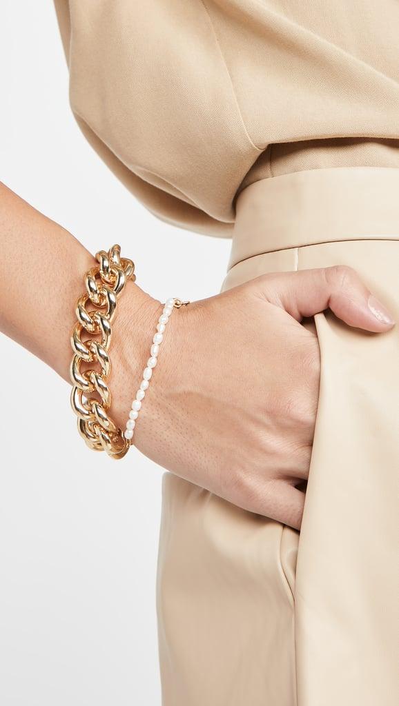 Kenneth Jay Lane Polished Chain Bracelet