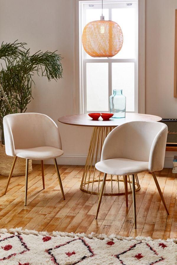 Tasha Velvet Chair Set