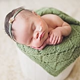 Newborn With Inoperable Tumor in Family Photos