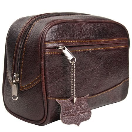 Leather Toiletry Bag ($34, originally $45)