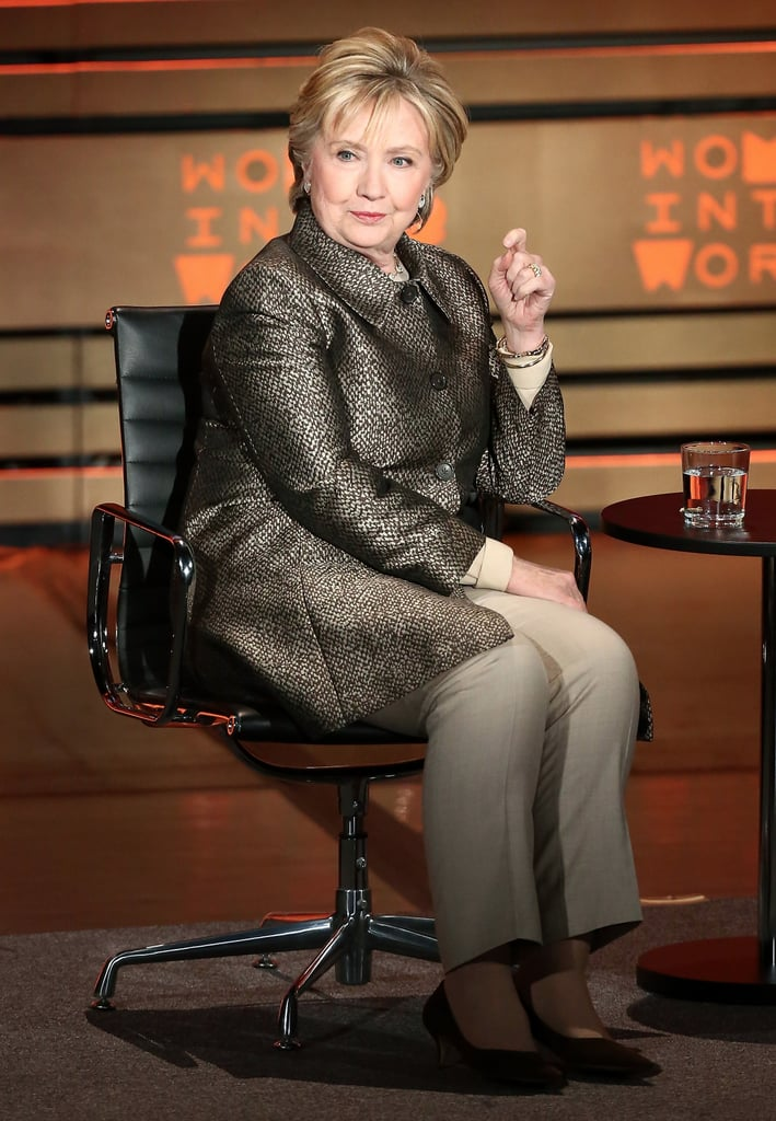 Hillary Clinton's Silver Jacket For Post-Election Interview