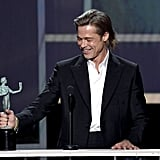 Photos of Brad Pitt's SAG Awards Speech