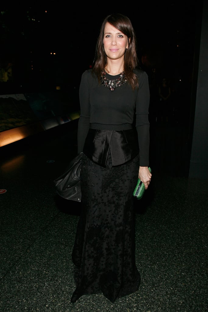 Kristen Wiig at the Museum of Natural History gala.