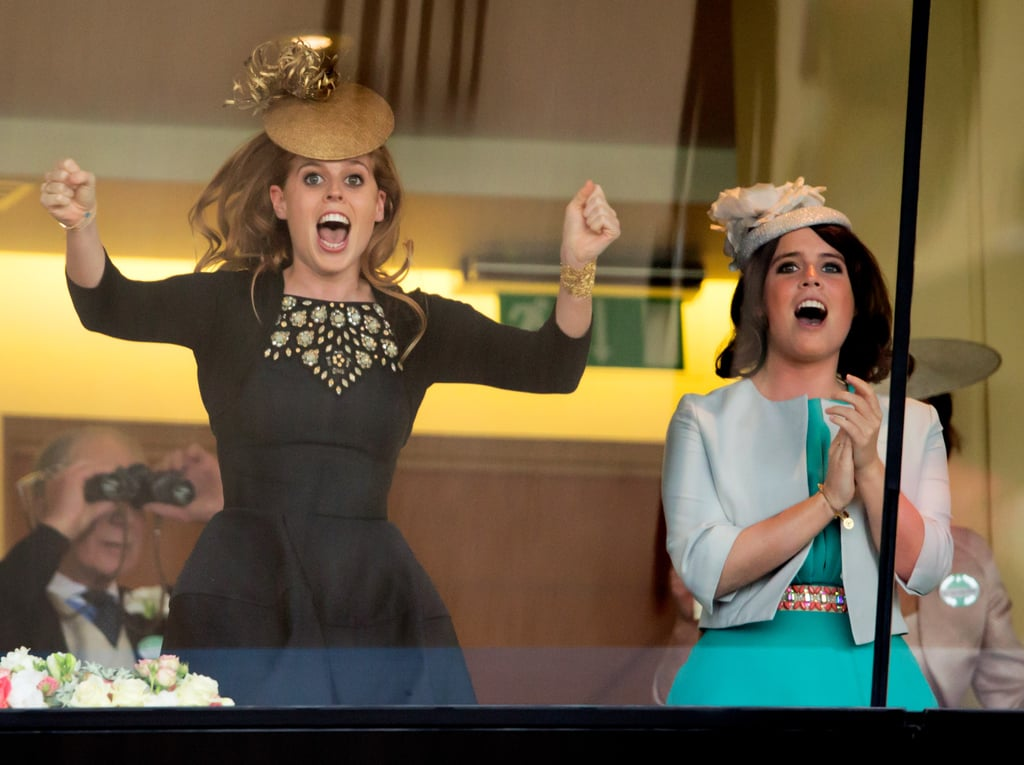 Photos Princess Beatrice and Princess Eugenie