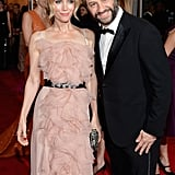 Leslie Mann and Judd Apatow in 2012