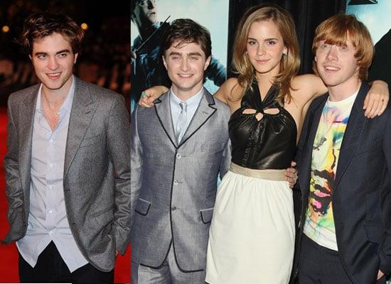 Photos of Robert Pattinson Debut on 2010 Sunday Times Rich List With Harry Potter Daniel Radcliffe, Emma Watson, Rupert Grint
