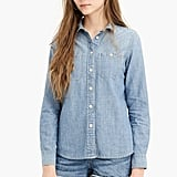 J.Crew Button-Up Shirt in Japanese Denim