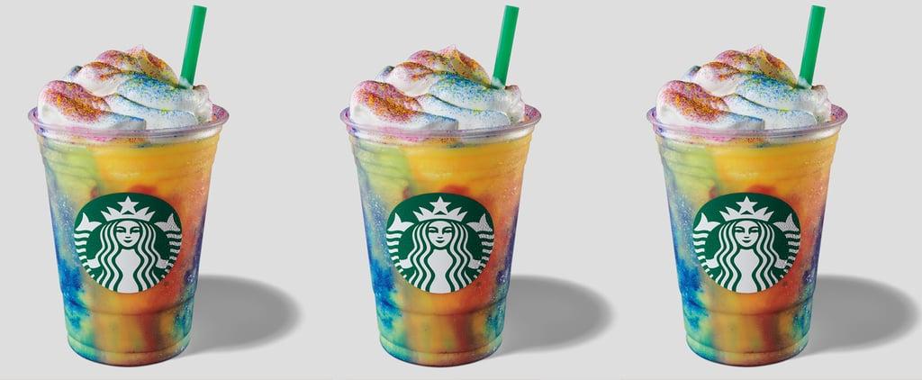 Calories in Starbucks Tie-Dye Frappuccino
