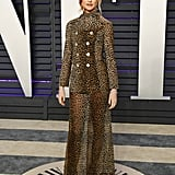 Behati Prinsloo at the 2019 Vanity Fair Oscar Party