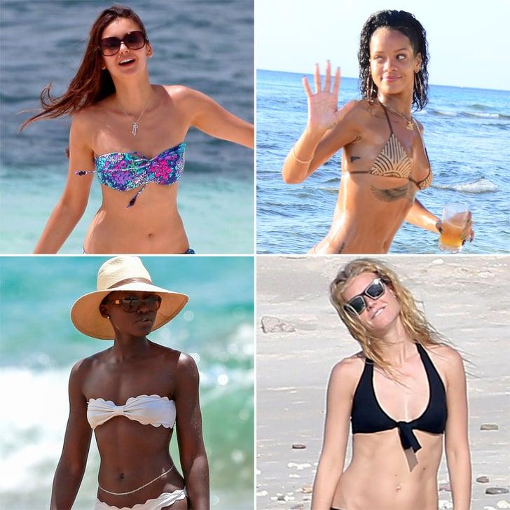 65 Sexy Stars in Bikinis!