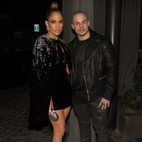Jennifer Lopez and Casper Smart at the 2015 AMAs Afterparty