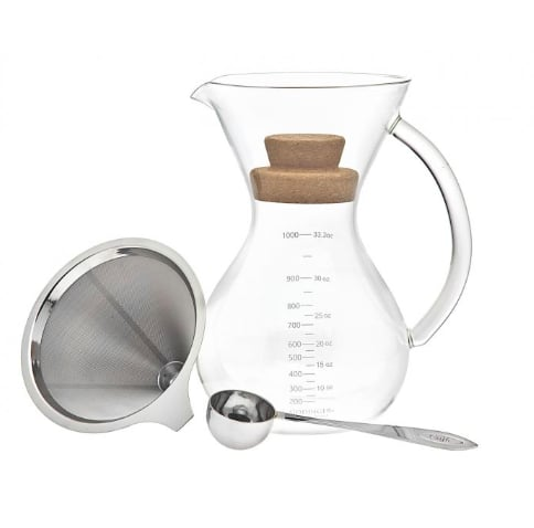 Pour Over 1000ml Coffee Maker