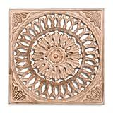 Pierce Carved Wood Medallion
