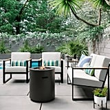 Henning Patio Club Chairs