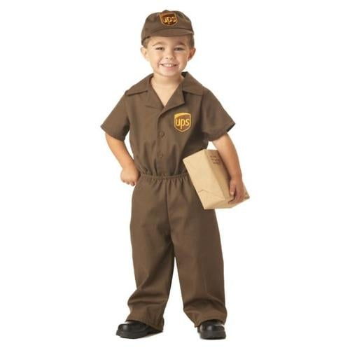 Kids UPS Costume ($30)