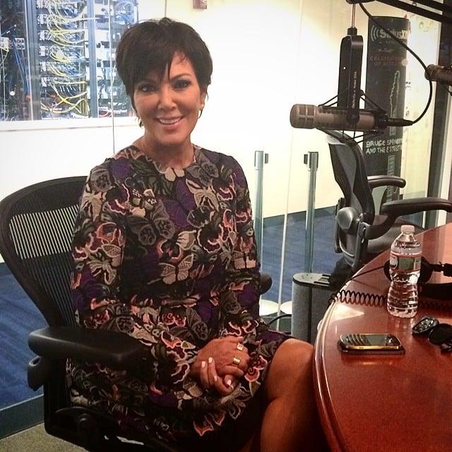 Kris Jenner at SiriusXM Studios