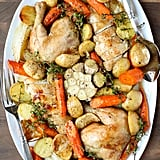 One-Pan Roast Chicken With Carrots and Potatoes