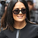 Salma Hayek Arrives at BBC Studios in London | Pictures
